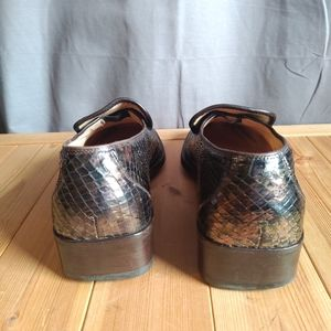 Gucci Shoes - Gucci Vintage Python Skin Loafers Brown iridescent